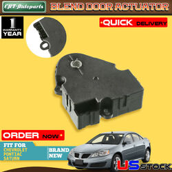 Heater Blend Air Door Actuator For Chevrolet Malibu Pontiac Saturn 05-12 604-135