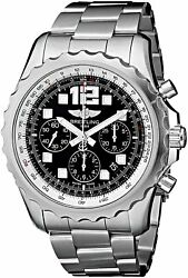 Breitling Men's A2336035-BA68 ChronoSpace Automatic Chrono Stainless Steel Watch