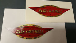 Banks-maxwell Propeller Decals Water Slide Type Aircraft And Air Boats