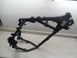 2011 Kawasaki KLR650 KL650E FRAME CHASSIS W SLVG TTL PAPERS
