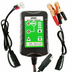 Daga Battery Charger Automatic Maintainer 12v 1.5amp For Dirtbikes