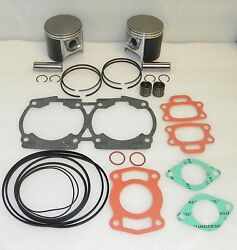Wsm Seadoo 720 Platinum Piston Rebuild Kit 010-817-13p .75mm Size Oem 290887180