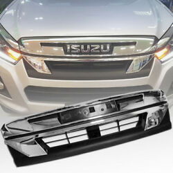 Front Chrome Grille Grill For Isuzu Rodeo Holden D-max Dmax Blade Yukon 15-2019