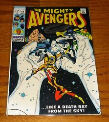 The Avengers # 64 Gene Colan Marvel Comics 1960s Hawkeye The Black Panther