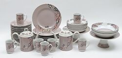 Set Of Georges Briard Floral Parisienne China. 50 Pieces