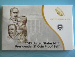 2013 Presidential 1 Proof Set With Mint Packaging And Coa Mckinley - Wilson