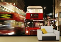 3d Bustling City Buses 679 Wall Paper Wall Print Decal Deco Indoor Wall Mural Ca