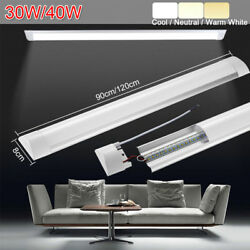 3ft/4ft Led Ceiling Batten Linear Tube Light Bar Cool Warm Neurtral White 30/40w