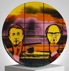 Gilbert And George 'light Headed' Limoges France Porcelain 8 Collectors Plate Nib