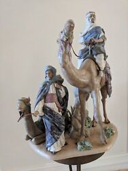 Limited Edition Lladro Retired 1992 Desert People