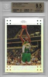 2007-08 Kevin Durant Topps Chrome Refractor RC- BGS 9.5 Gem Mint... #1191499