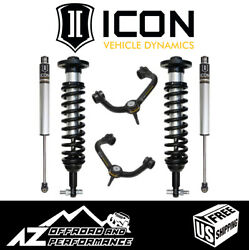 Icon 0-2.63 Suspension System Stage 2 Tubular Uca For 2015-2020 Ford F150 4wd