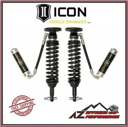 Icon 2-2.63 2.5 Vs Rr Front Coilover Kit For 2015-2020 Ford F150 4wd 91811