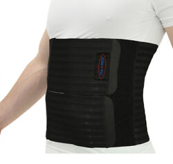 Ita-med Menand039s Abdominal Support Binder - Breathable Elastic 12 Inch- Made In Usa