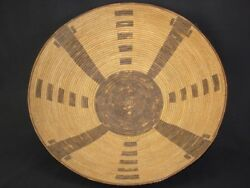 A Very Large Early Pima Basket, Native American Indian, Circa 1910