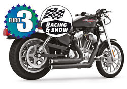 Independence Black Shorty Exhaust Hd00403 Freedom Harley Sportster 2014-17
