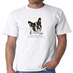 French Bulldog T-Shirt Puppy Pet Rescue Dog Owner Men's Tee
