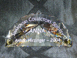 Collectorandrsquos Society 2004 Title Plaque Andndash Anna With Box - Artist Signed