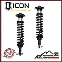 Icon Vehicle Dynamics Front Coil Over Shock Kit For 2014 Ford F150 4wd