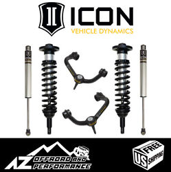 Icon 0-2.63 Suspension System Stage 2 Tubular For 2004-2008 Ford F150 2wd