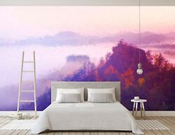 3d Sky Mountains Scenery 442 Wall Paper Wall Print Decal Wall Deco Indoor Murals