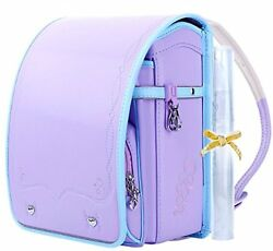 Coulomb Randoseru A4 School Backpack 2017 Model Light Violet 112 LV FS wTrack#