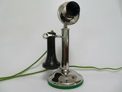 Original Antique Western Electric 20h Candlestick Telephone Mint Condition