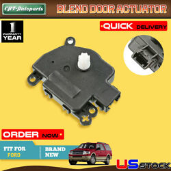Heater Blend Air Door Temperature Actuator for Ford  Lincoln 2006-2008 Air Inlet