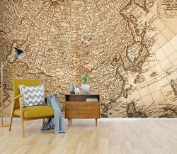 3d Precision World Map 423 Wall Paper Wall Print Decal Deco Indoor Wall Mural Ca