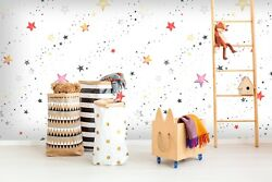 3d Shiny Little Stars 6 Wall Paper Wall Print Decal Wall Deco Indoor Wall Murals