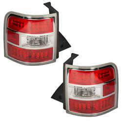 Oem New Rear Right And Left Led Tail Light Lamp Set 2 2012-2018 Ford Flex