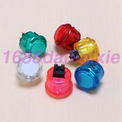 12x New 30mm Arcade Crystal Push Button Replaced For Sanwa Obsc-30 Buttons Mame