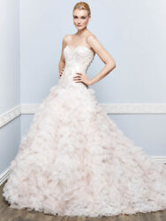 Private Label Kenneth Winston Collection Style 1653 Ivory Size 10