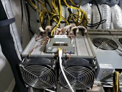 Used Bitmain Antminer S7 ++ Dual Bitcoin Miner 8.5th/s - 9.5th/s W/flanges