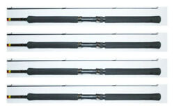 Bnm Graphite Jig Pole Crappie Fishing Pole Rod 12and039 Bgjp122n Set Of Four Rods