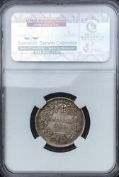 Great Britain 1846 Victoria One Shilling Ms62 Ngc Pretty Mint State Example