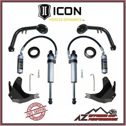 Icon S2 Secondary Shock System Stage 2 For 16-21 Toyota Tacoma