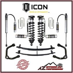 Icon Vehicle Dynamics 0-3 Stage 4 Suspension System For 1996-2004 Toyota Tacoma