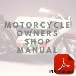 Yamaha 1976-1981 Tt500 Ownerand039s Service Motorcycle Manual Or Part List Catalogs