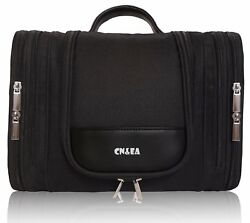 CNEA Hanging Toiletry Bag by Travel Makeup Cosmetic Bag for Women and Men Larg