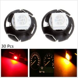 30 x T4.7 1SMD Neo Wedge 5050 LED Car Panel Dashboard Climate Control Light Bulb