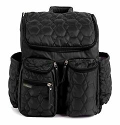 Wallaroo Diaper Bag Backpack with Stroller Straps Wet and Changing Pad – For Men