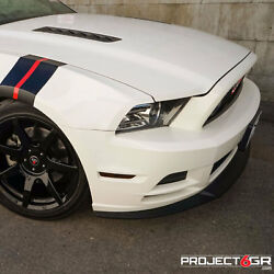 Project 6gr Seven 20x10/11 Gloss Black Concave Wheels For S197 Mustang Gt V6