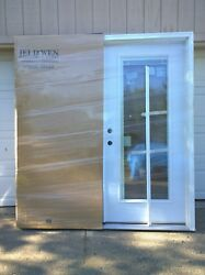 New Premium Steel Home Double French Patio Door W/ Tempered Glass And Blinds