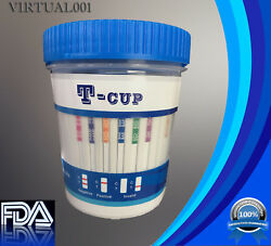 12 Panel Drug Test Cup -test For 12 Drugs- Fda Clia - Lots As Low As 2.49/ Cup