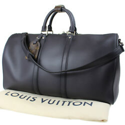 LOUIS VUITTON Ombre 2015 Hawaii Limited Boston Hand Bag Charcoal Gray Auth #B817
