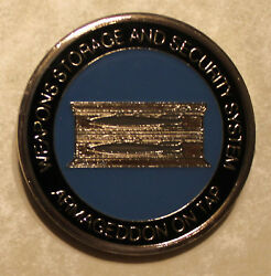 Armageddon On Tap Usafe Nuclear Weapons Storage Air Force Challenge Coin