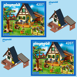 Playmobil 4207 5004 Forest Lodge Spares Spare Parts Service