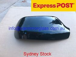MIRROR HOUSE COVER CAP FOR RIGHT DRIVER SIDE MAZDA 3 2004 2009 BLACK