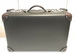 [100%AUTH] Hermes Express Faubourg Briefcase Bag Black Mens Trunk Hard Suitcase